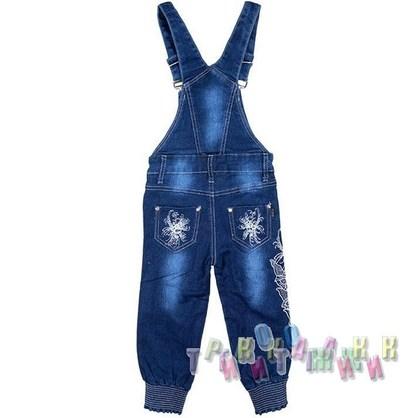Комбинезон джинсовый для девочки м.8405 (Турция)