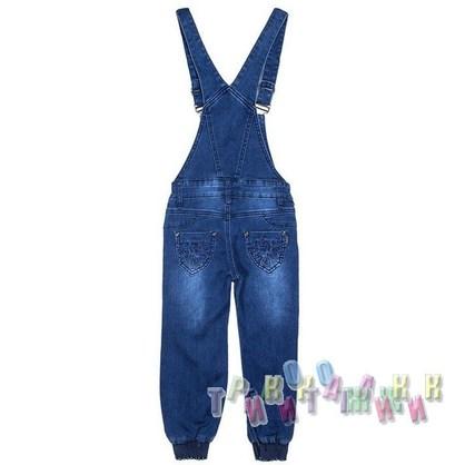 Комбинезон джинсовый для девочки м.621 (Турция)