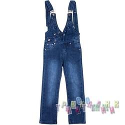 Комбинезон джинсовый для девочки м.А90 (Турция)