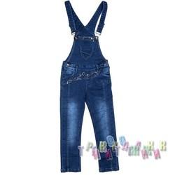 Комбинезон джинсовый для девочки м.5921 (Турция)