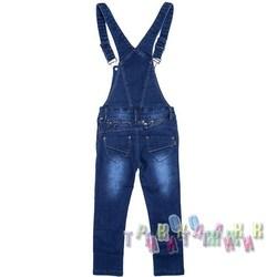 Комбинезон джинсовый для девочки м.9262 (Турция)