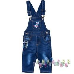 Комбинезон джинсовый для мальчика м.11324 (Турция)