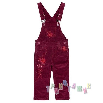 Комбинезон джинсовый для девочки м.387 (Турция)