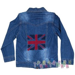 Пиджак джинсовый м.7741-8 (Турция)