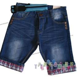 Бриджи джинсовые для мальчика, м.146