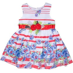 Платье трикотажное, Q8805. Голубое
