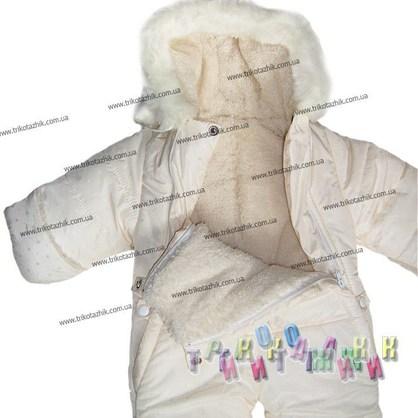 Комбинезон для малыша, модель 1010. Сезон Зима. (Украина)