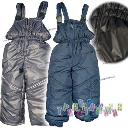 Зимние штаны на бретелях (Украина)
